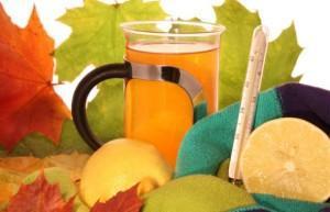Лимонный напиток от простуды