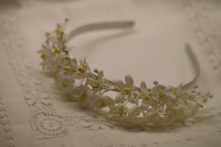 Померанец в свадебном венке