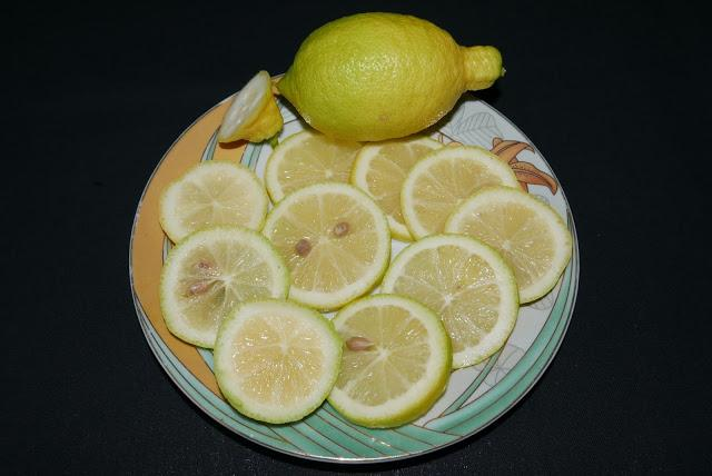 Лимон тарелка