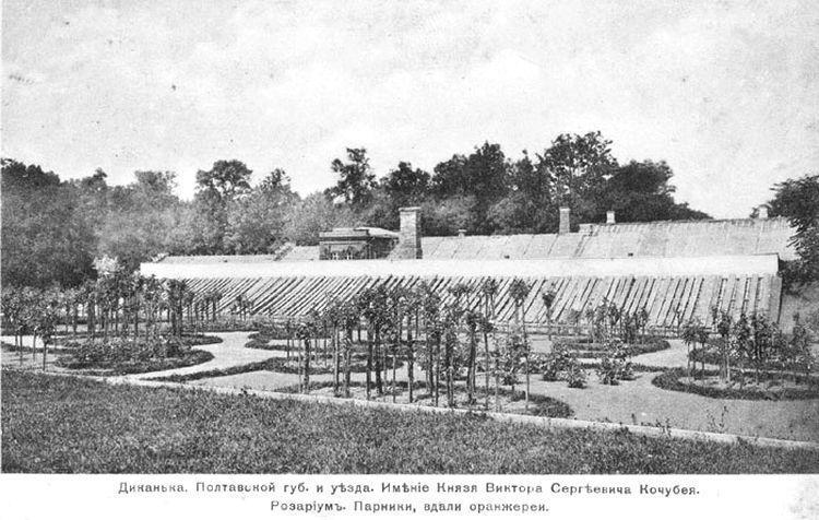 Оранжерея 19 века