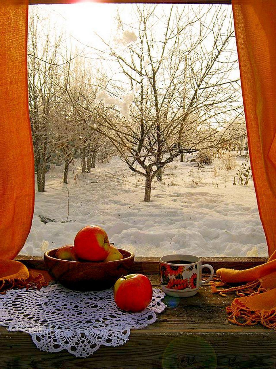 Приятных и комфортных вам зимних вечеров