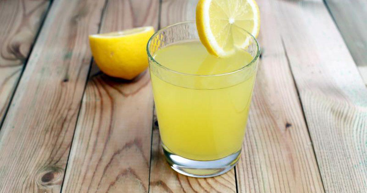Картинка лимонный сок