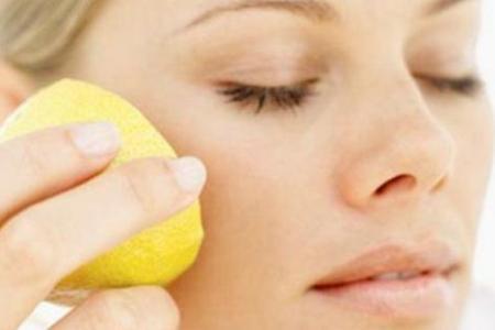 Лимон для кожи лица