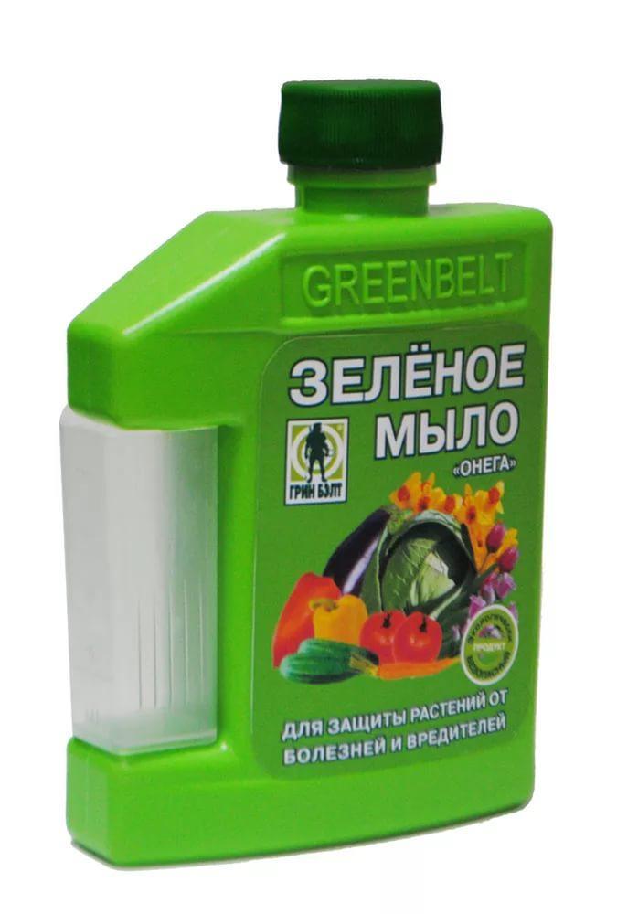 Зеленое мыло фунгицид