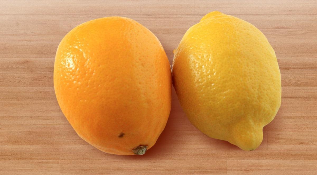 Лимон мейера плод