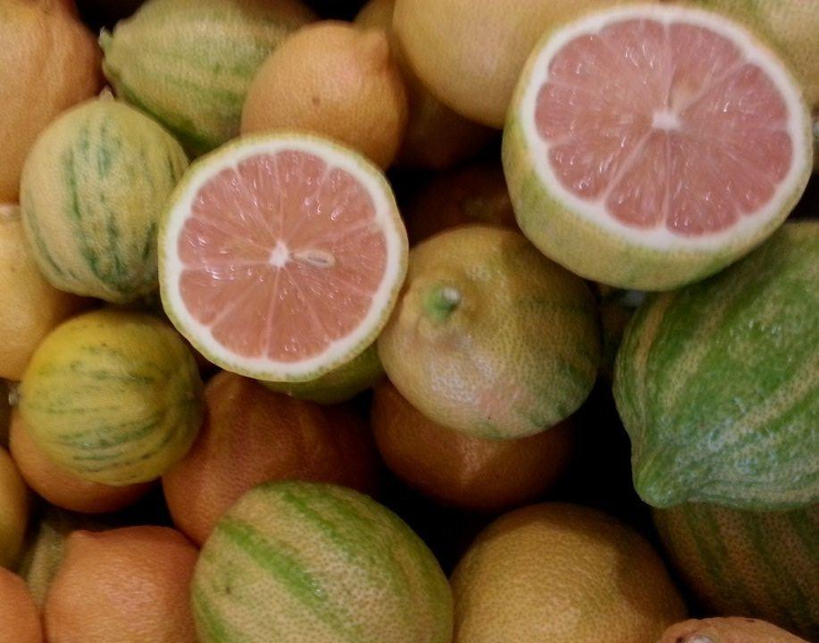 Розовый лимон фото