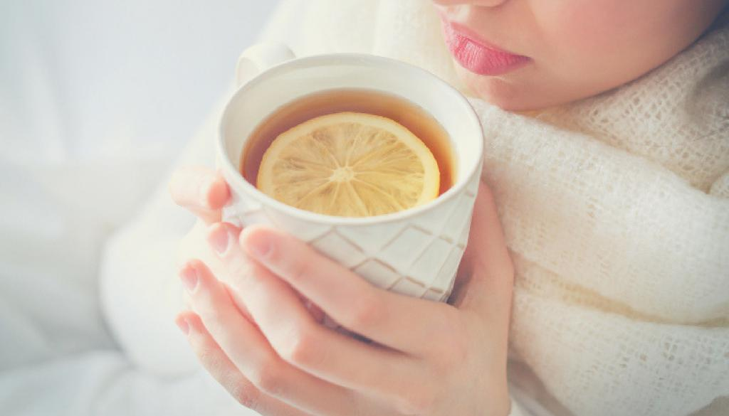 лимон при простуде